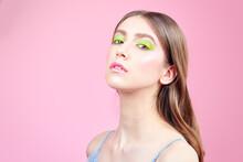 Vivid Colorful Makeup