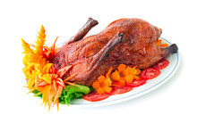 Roasted Duck Fusion Food Chine...