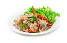 Spicy Salad Vermicelli Noodles...