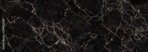 Papel de parede Black Marble stone texture, granite details surface