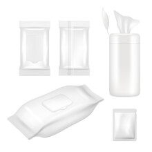 Vector Realistic White Blank W...