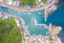 Aerial View Of Bitou Port, Nor...