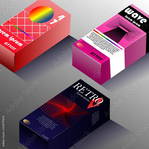 Photo Retro video packaging