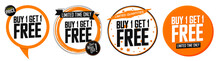 Set Buy 1 Get 1 Free Tags, Sal...