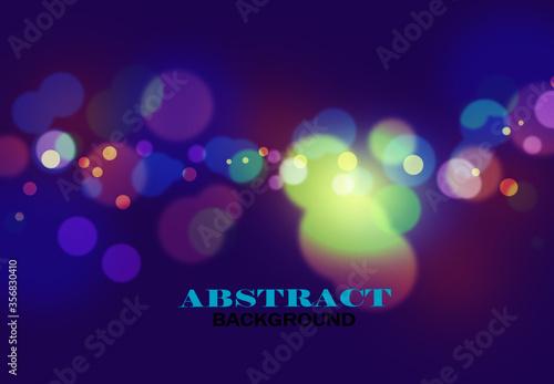Fototapeta Geometric Background of Purple Bokepattern obraz