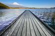 静岡県田貫湖からの富士山