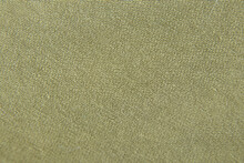 Green Fabric Dress As Backgrou...