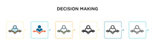 Decision Making Vector Icon In...
