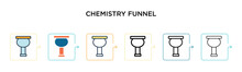 Chemistry Funnel Vector Icon I...