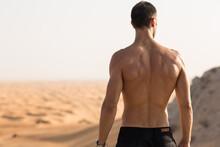 Strong Shirtless Muscular Man ...