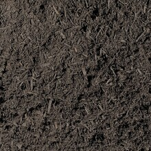 Black Hardwood Mulch Texture Abstract Background