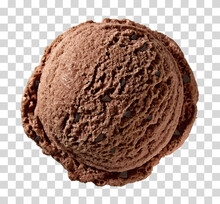 Chocolate Ice Cream Scoop From...