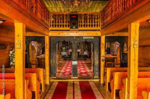 Fototapeta wnętrze kościoła  obraz