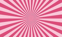 Sunburst Pink Background
