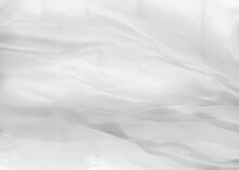 White Silk Background 3d Rende...