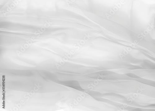 Fotografía white silk background 3d rendering