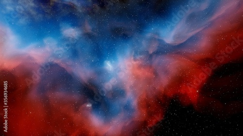Photographie abstract background with various colors, abstract color space background for des