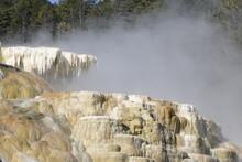 Mammoth Hot Springs, Yellowstone National Park, Wyoming, USA