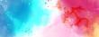 Abstract surface of fantasy splash watercolor