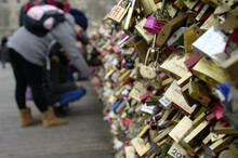 Symbol Of Love - Padlocks Hung...