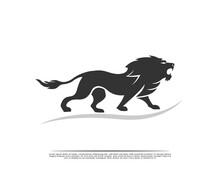 Stand Roaring Lion Full Body L...