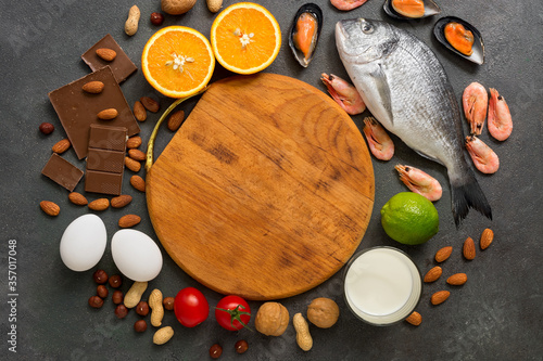 Photo Food allergens