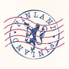 Finland Stamp Postal. Lion Sil...