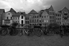 Old Houses In Ghent Belgium