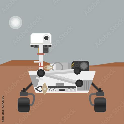Fotografía Perseverance/Curiosity Rover