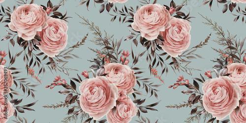 rozowe-bukiety-kwiatkow-retro
