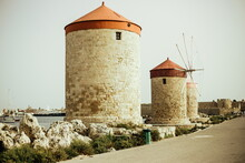 Old Fortress In The City Of Rh...