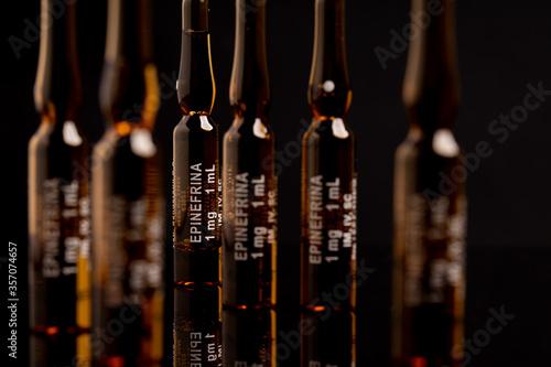 ampollas de adrenalina Canvas Print