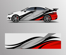 Graphic Abstract Racing Design...