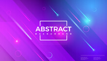 Modern Geometric Shape Abstract Background Gradient Colorful. Vector Illustration