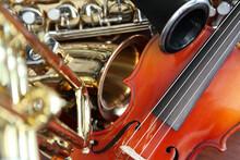 Closeup Detail Of Classical Mu...