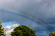 canvas print picture - Rainbow in the Sky
