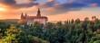 Książ Castle, Sunset panorama