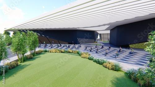 Foto Automobile institute design.