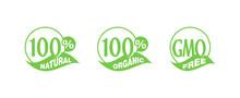 100 Natural, 100 Organic, GMO ...
