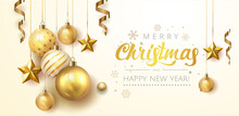 Golden Christmas Balls Light W...
