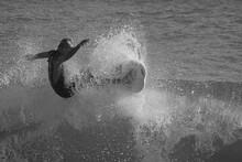Surfing At Sebastian Inlet Florida