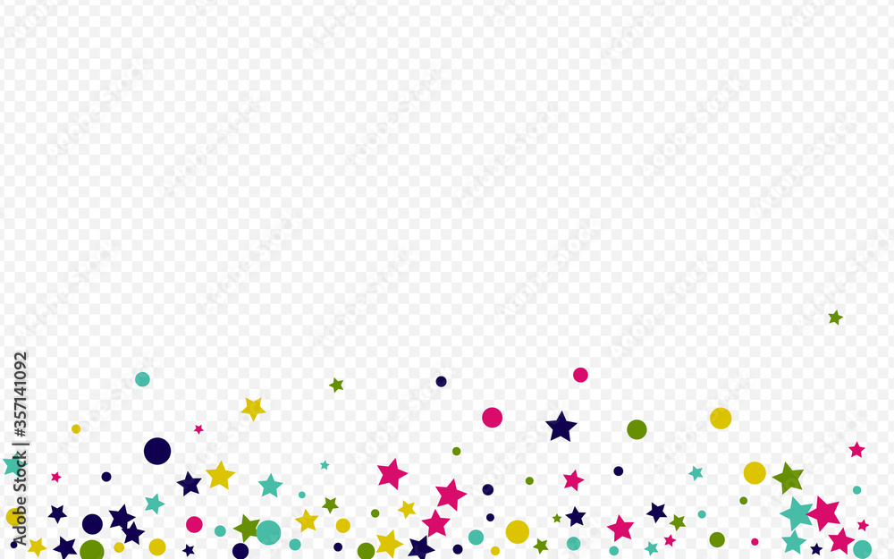 Fototapeta Green Dot Invitation Transparent Background.