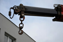 Crane Arm With Metal Hook In T...