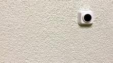 Plastic Doorbell With Black Bu...