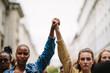 Leinwanddruck Bild - Black lives matter!