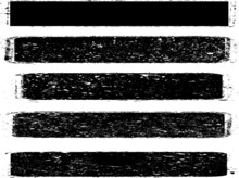 Grunge Paint Stripe . Vector B...