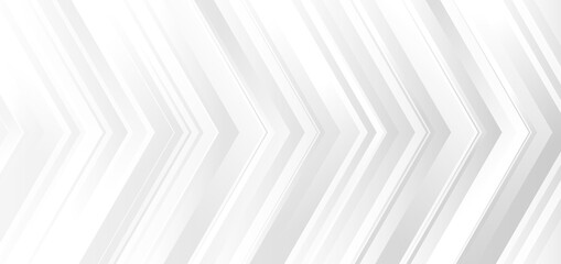Template banner design white and gray gradient color arrows modern background