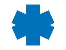Ambulance Cross Icon - Vector ...