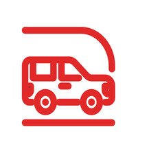 Red Truck Icon