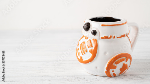 Photo Self made BB-8 mug